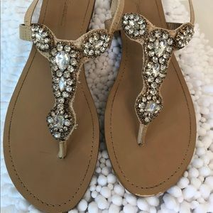BCBGeneration size 9.5 sandals like new condition